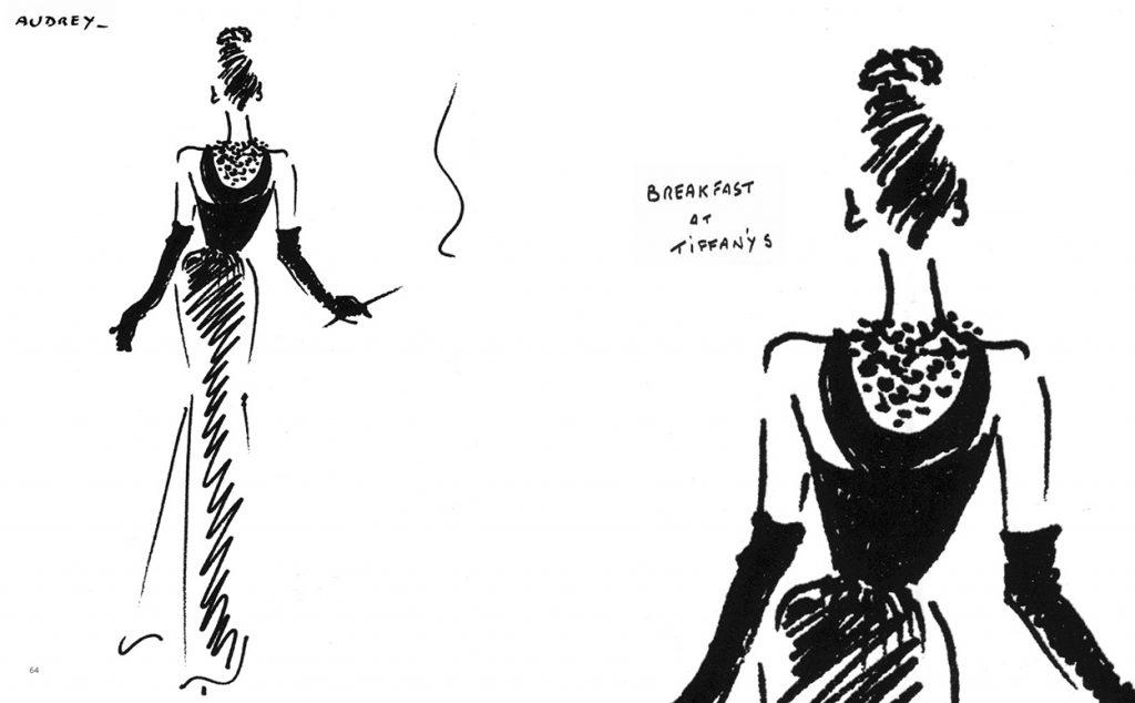 Чёрное платье Одри Хепбёрн стало  культовым среди женских костюмов