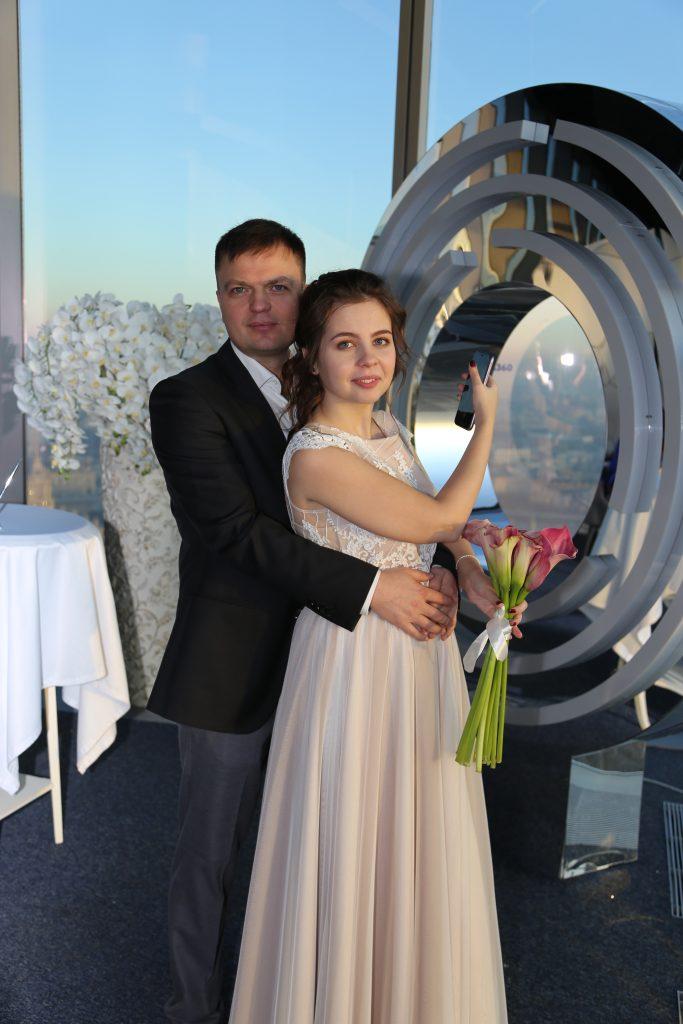 Свадьба в «Москва-Сити»