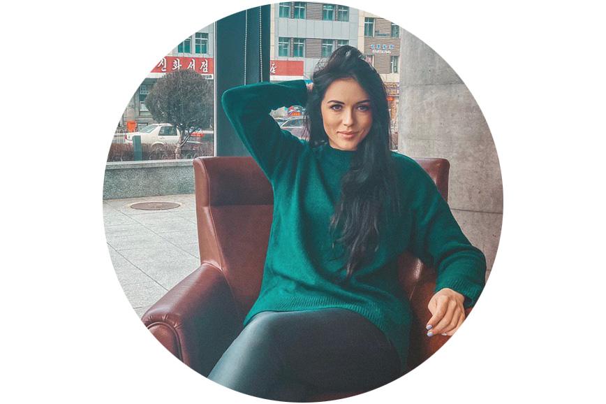 Ирина Новикова рассказывает, где купить свитер