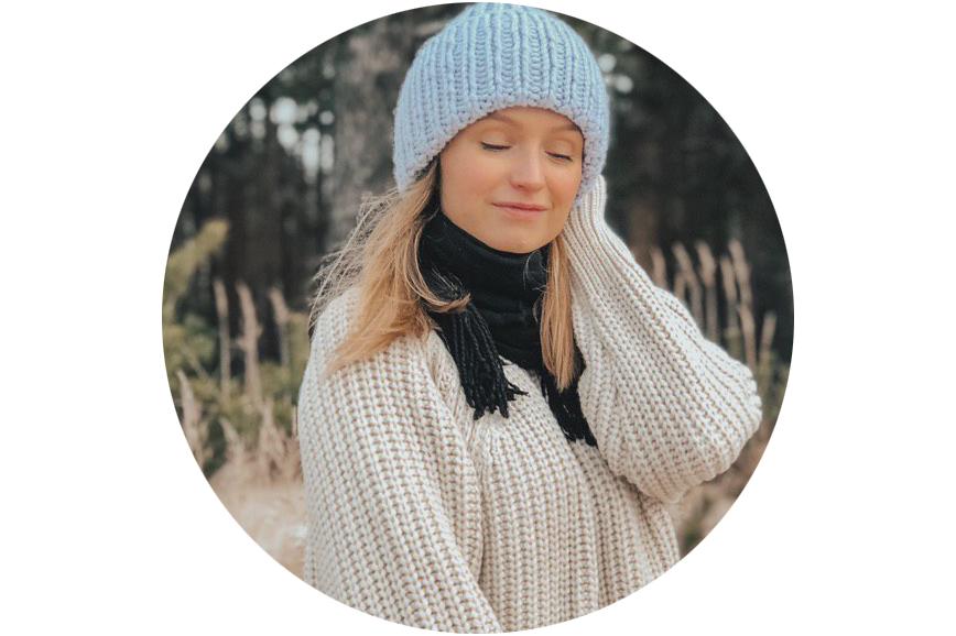 Полина Грань рассказывать, где купить свитер