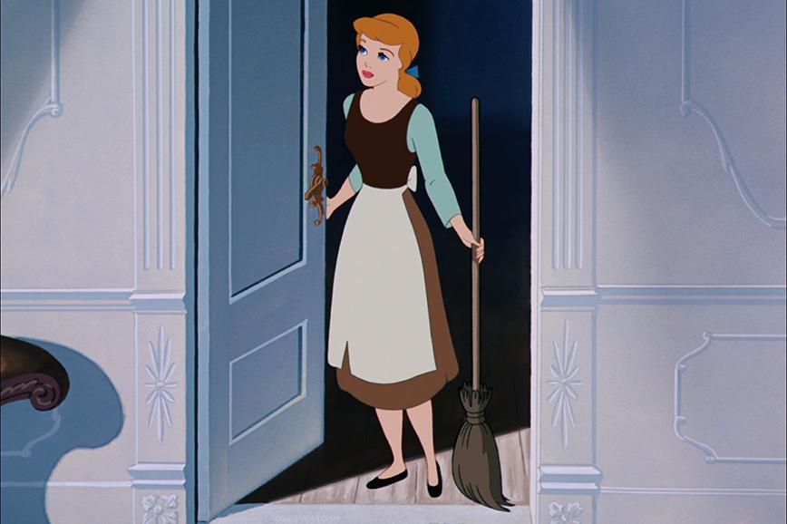 Кадр из мультфильма «Золушка»