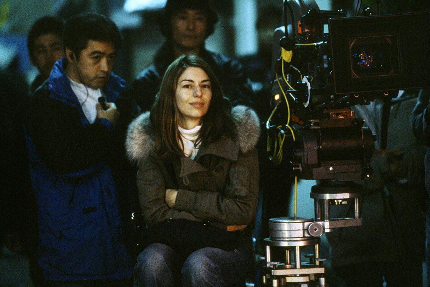 София Кополла на съёмках «Трудностей перевода» / IMDb