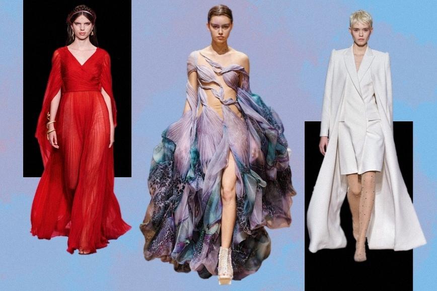 Брендовая одежда от Christian Dior, Iris van Herpen и Givenchy на показе Spring 2020 Couture