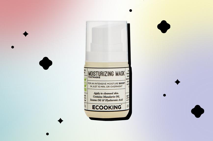 Увлажняющая маска для лица c гиалуроновой кислотой Ecooking