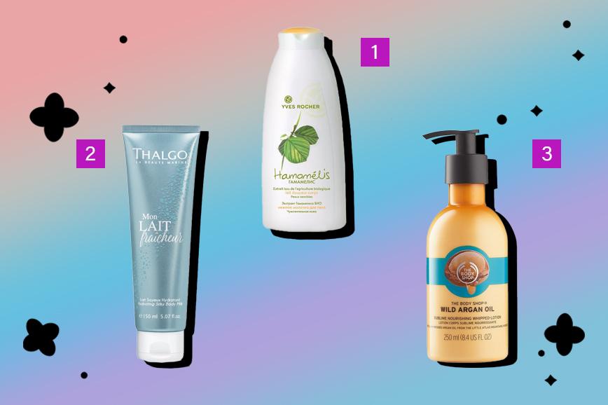 Как ухаживать за кожей: молочко для тела
