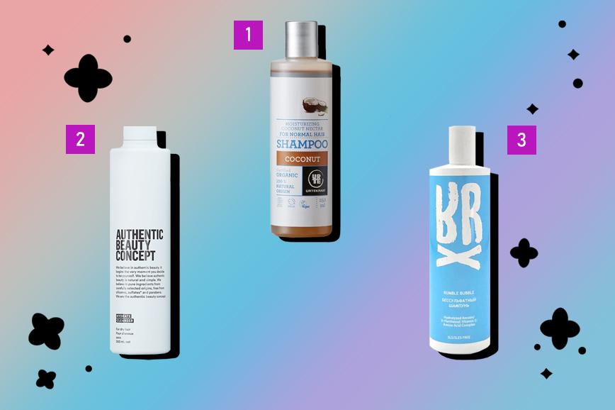 восстановление волос: мягкие шампуни