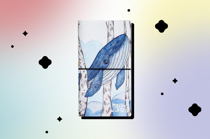 Ежедневник недатированный с китом