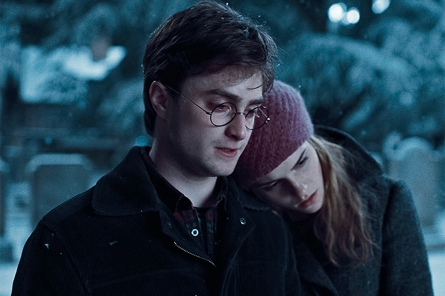 Пары из фильмов: Гарри Поттер и Гермиона Грейнджер
