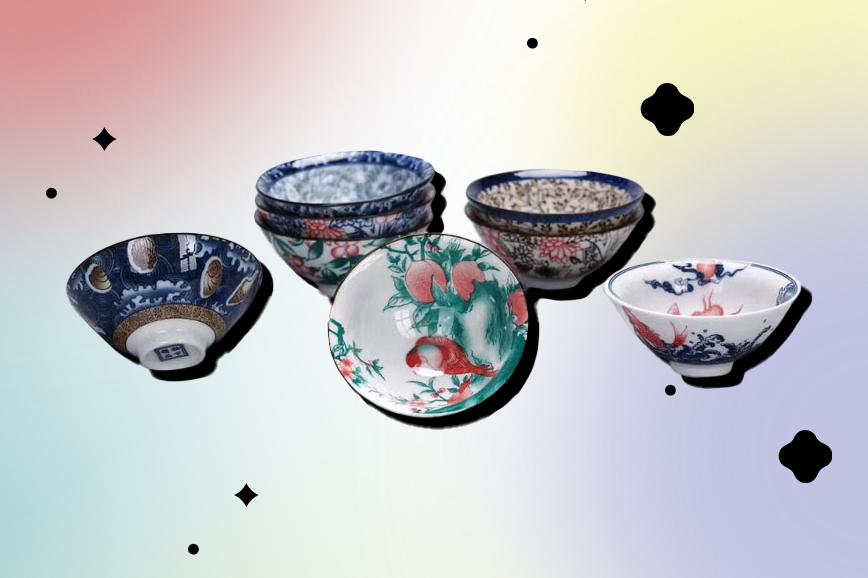 Посуда для чая: чашки