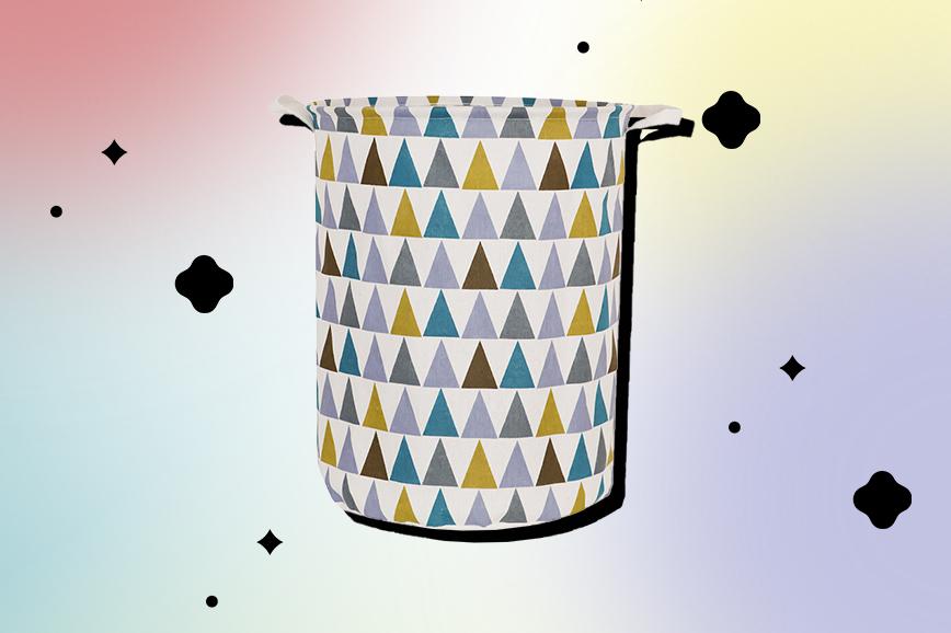 Как украсить ванную: красивые корзины для белья