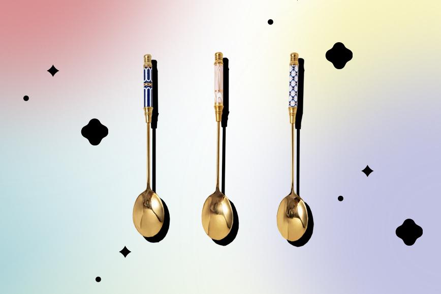 Чайные ложки с дизайном
