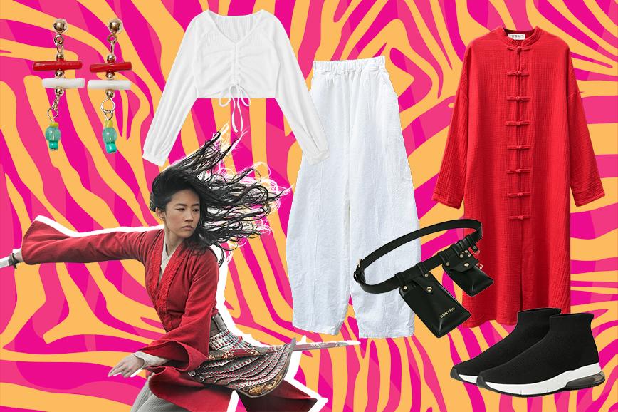 как одеться в стиле фильма «Мулан»