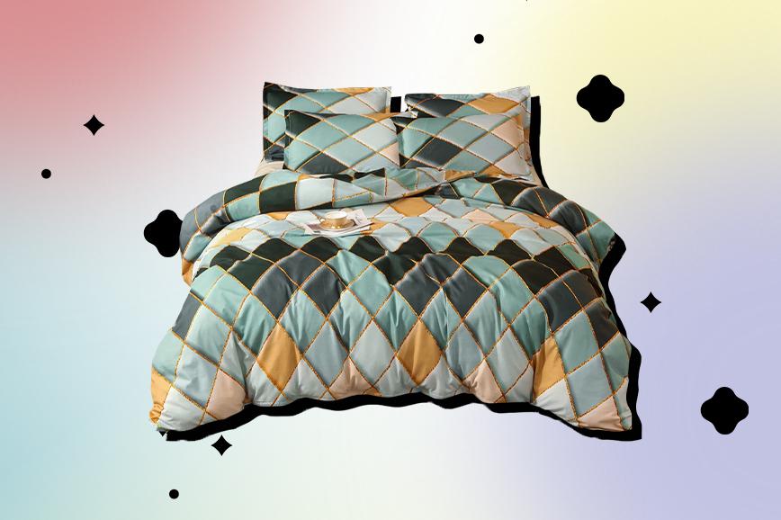Как украсить спальню: постельное бельё