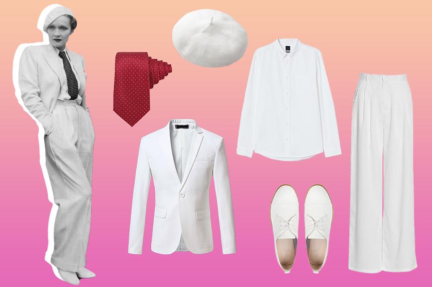 как носить мужскую одежду: пример Марлен Дитрих