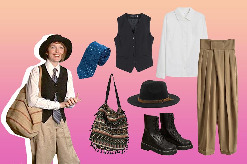 как носить мужскую одежду: пример Дайан Китон