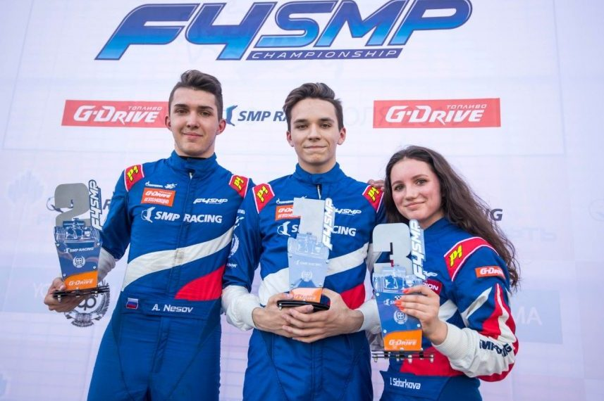 Ирина Сидоркова на «Формуле 4» финишировала третьей