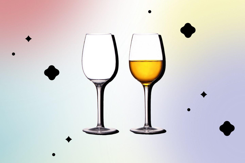 Расслабляющий вечер: бокалы под вино