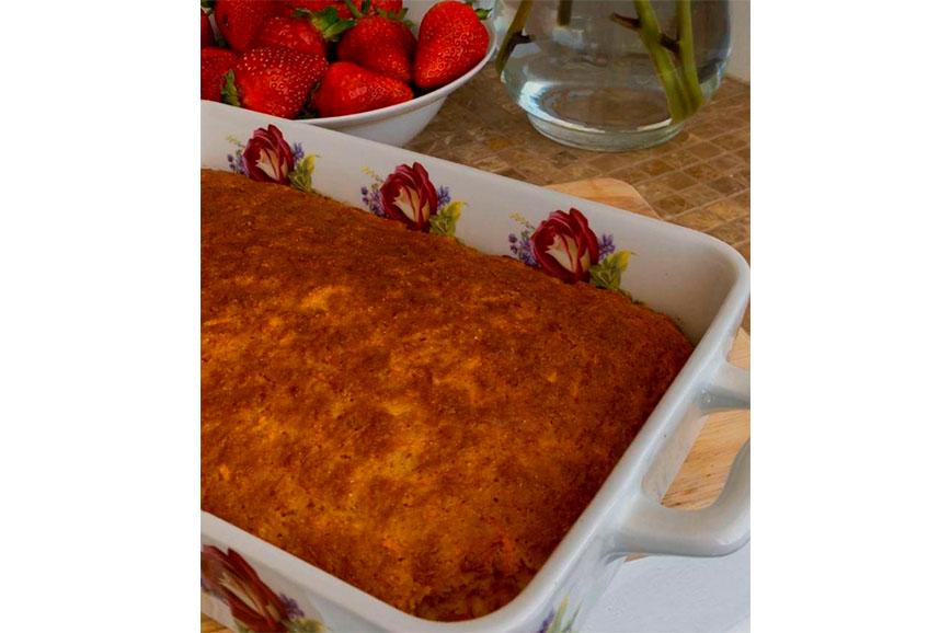 Что готовить осенью: морковный пирог