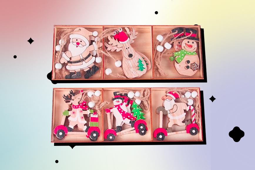 новогодние украшения: ёлочные игрушки