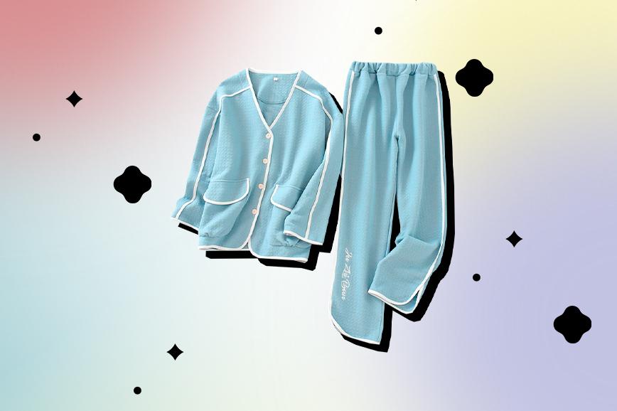 теплая пижама для дома
