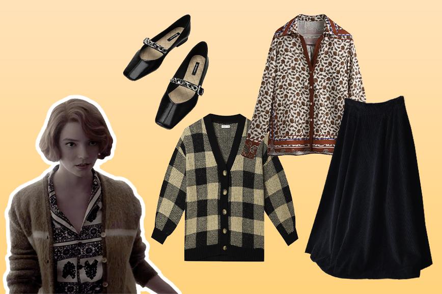 мода 60-х: рубашка с принтом