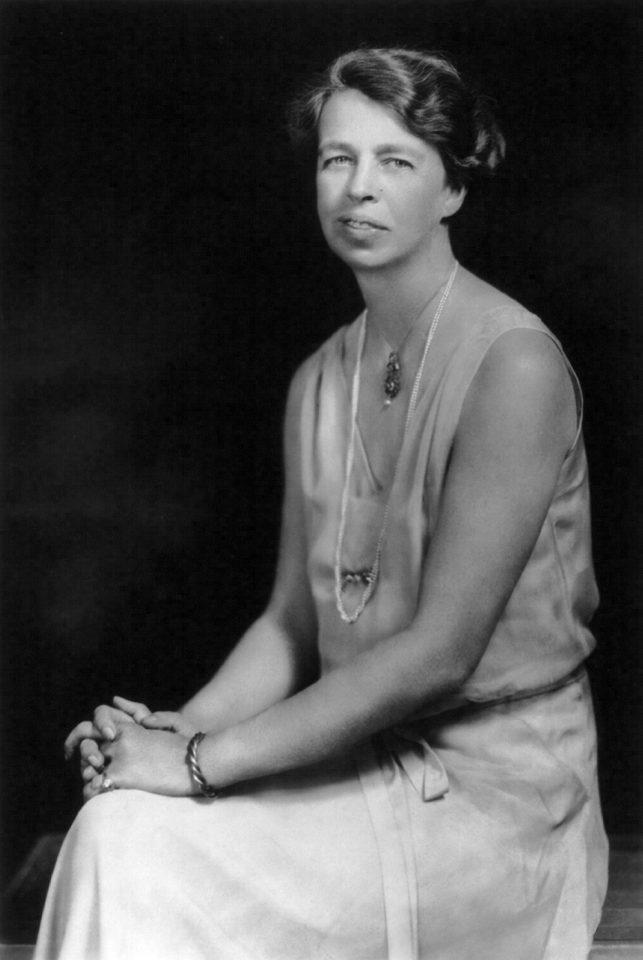 первые леди: элеонора рузвельт