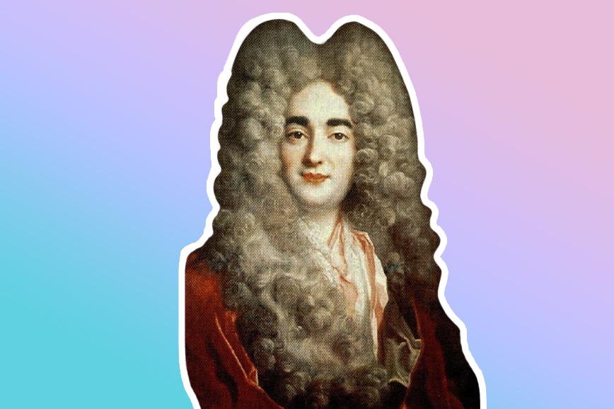 румяна и парики в 18-м веке