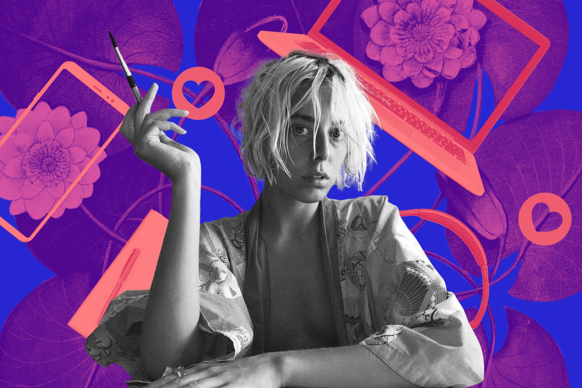 Художница Ксения Драныш: обложка