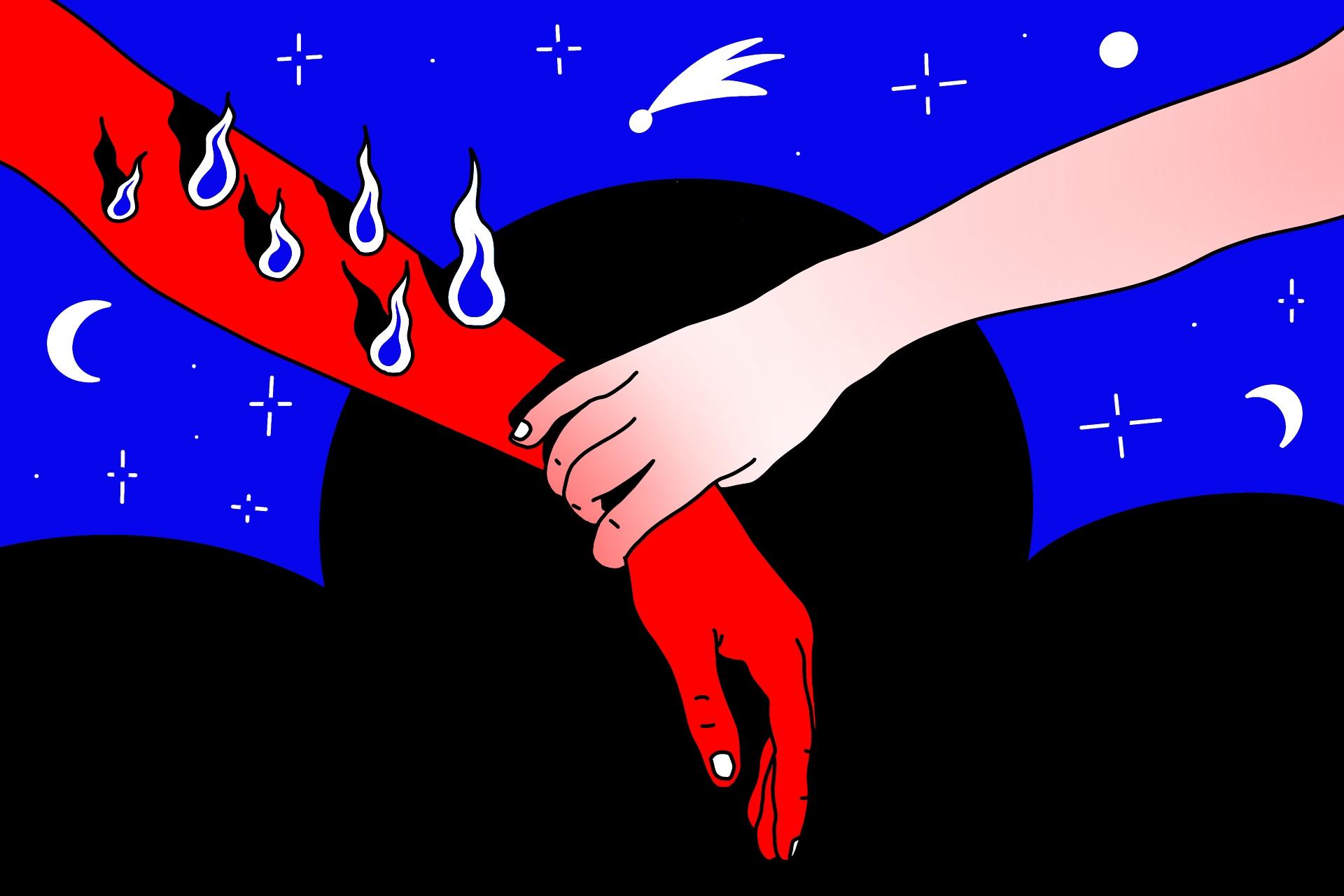 как помочь выгоревшему человеку