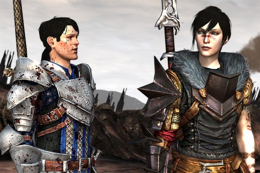 Интересные видеоигры: Dragon Age II