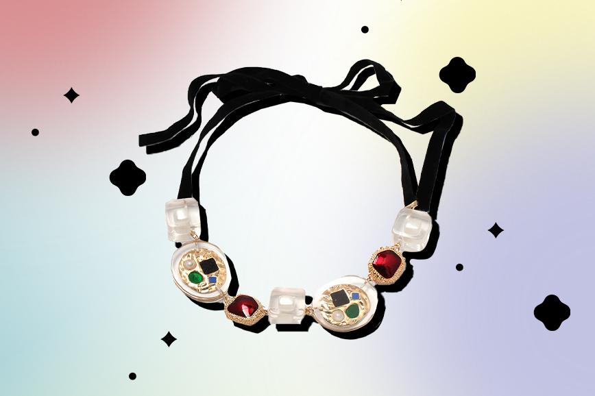 ожерелье в винтажном стиле