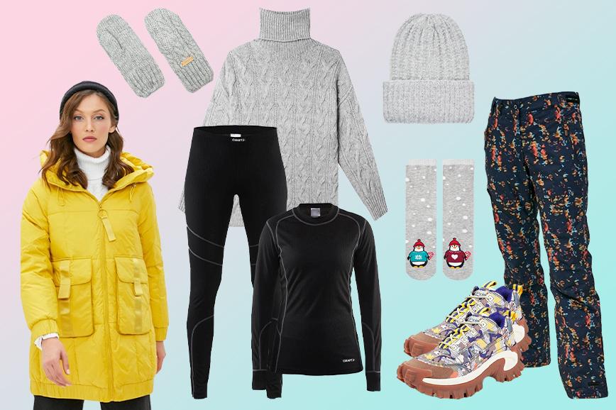 как одеться на прогулку зимой