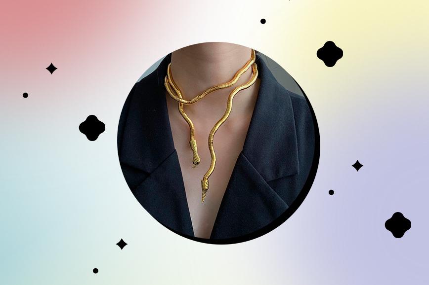 ожерелье в форме зверей