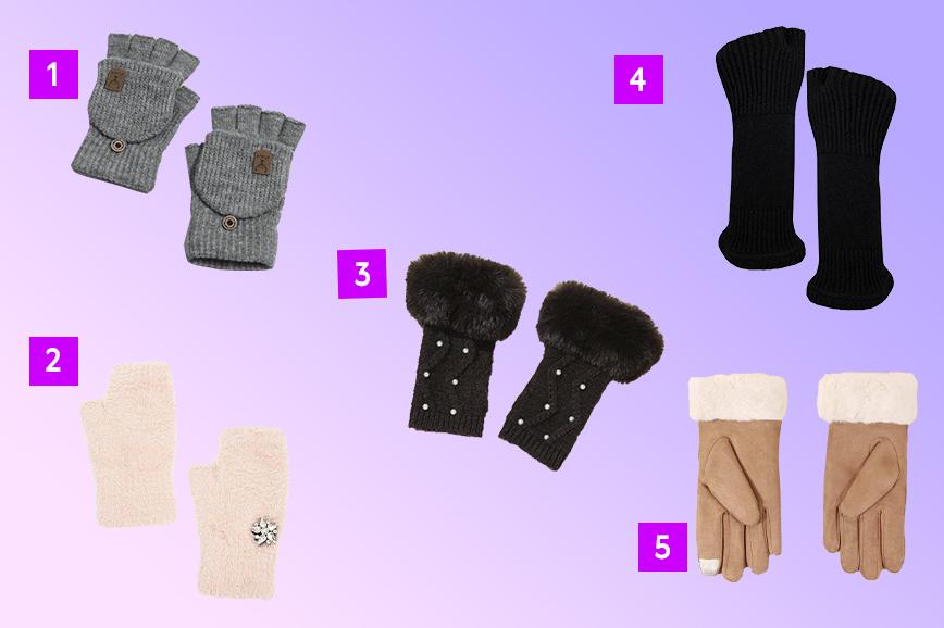 альтернатива перчаткам: митенки