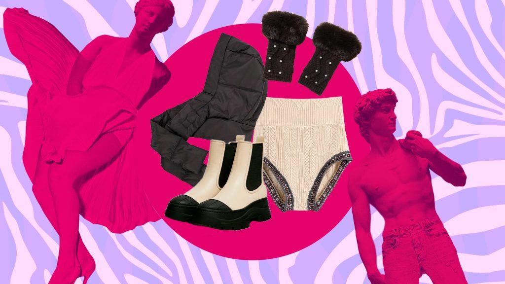 как одеться тепло и стильно зимой