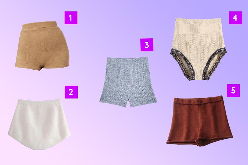 как одеться тепло и стильно зимой: шерстяные шорты