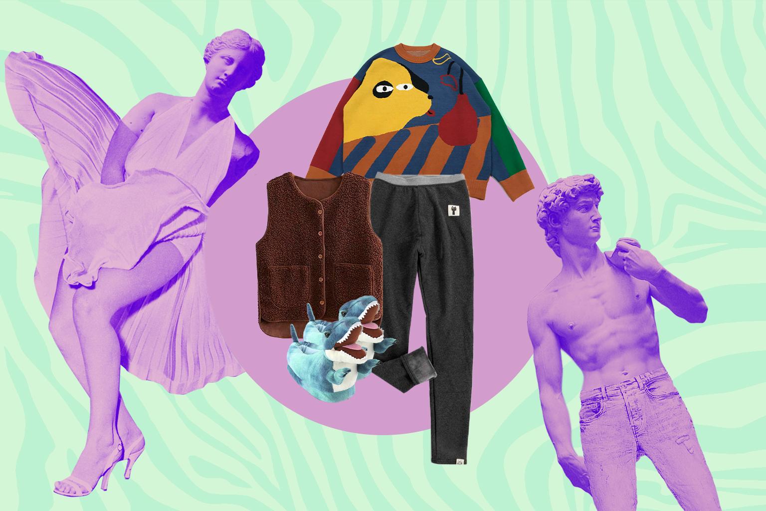 теплая домашняя одежда