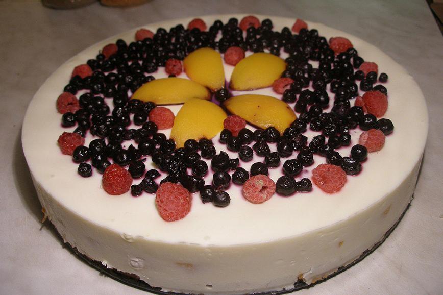 Необычные новогодние рецепты: творожный торт