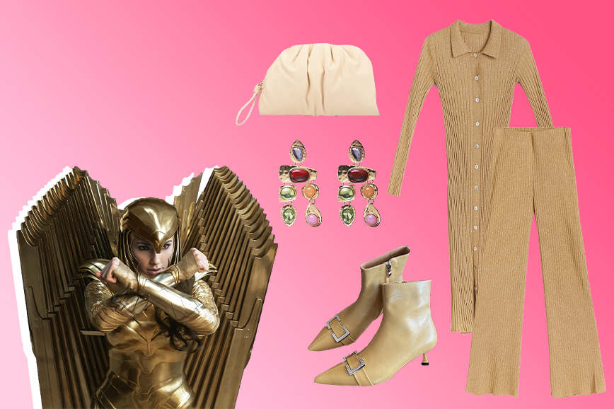 чудо женщина 1984: золотая броня дианы