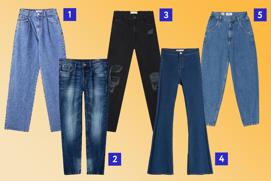 тренды весны 2021: джинсы