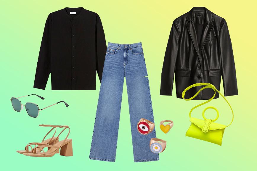как одеться в стиле 90-х