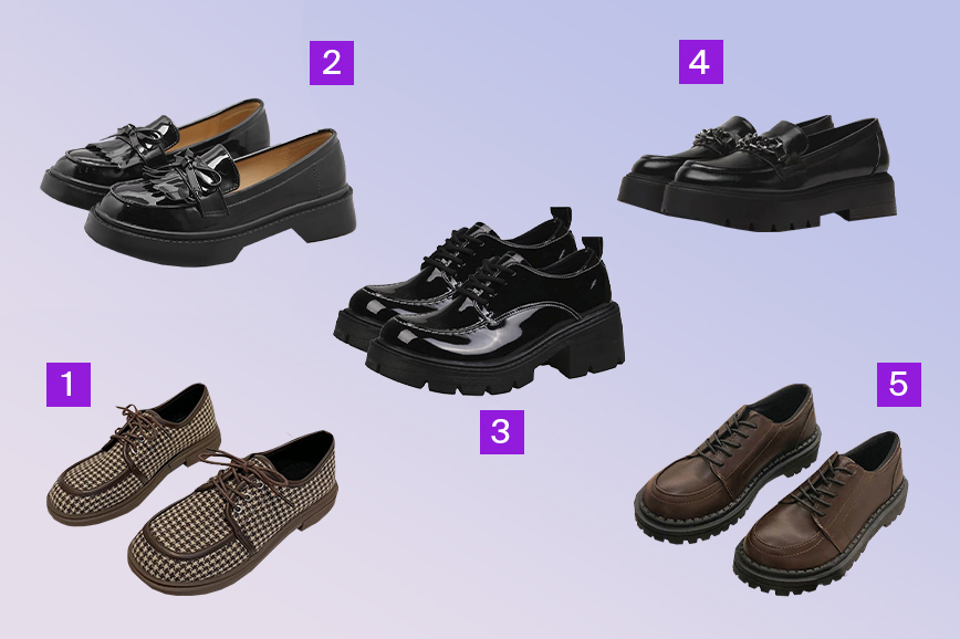 тренды обуви на весну: лоферы