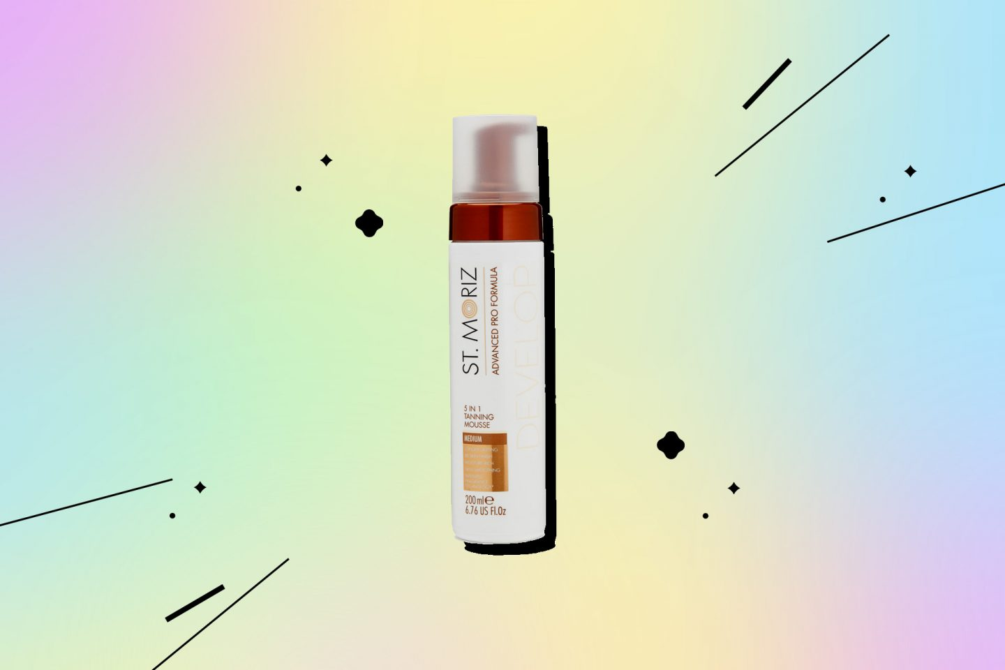 Мусс для лица и тела Advanced Pro Formula от St. Moriz