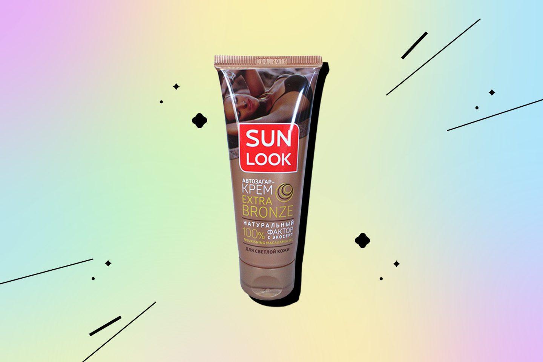 Автозагар для лица и тела Extra Bronze от Sun Look