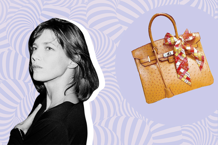 знаменитые сумки: Birkin bag Hermès