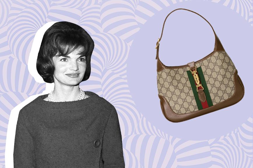 знаменитые сумки: Jackie Gucci