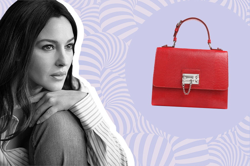 знаменитые сумки: Monica Dolce & Gabbana
