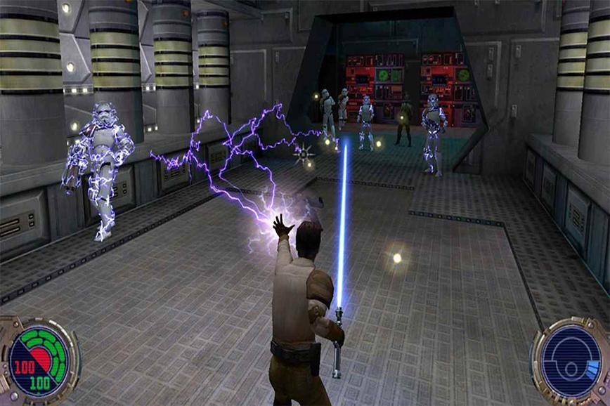 игры star wars: Dark Forces II