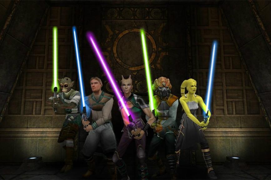 игры star wars: Jedi Academy