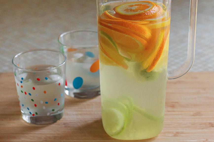 как самостоятельно приготовить лимонад из цитрусовых